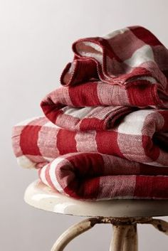 Gingham Check Blankets