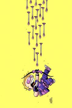 Skottie Young: All-New Hawkeye Vol.1 #1 baby variant cover