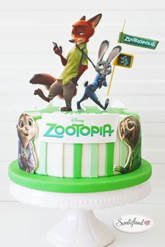 Zootopia cake Bienne Biel