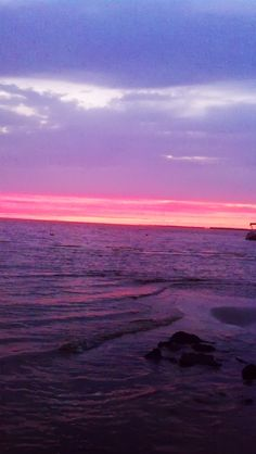 Amazing Outer Banks sunset. #OuterBanks #OBX #Vacation