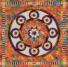 Потрясающие квилты Jaqueline de Jonge: фейерверк красок - Ярмарка Мастеров - ручная работа, handmade