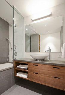 University Place - modern - bathroom - new york - by StudioLAB, LLC