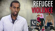 """Jay Fayza: """"Refugee"""" vs. Swedish Female Cops"""