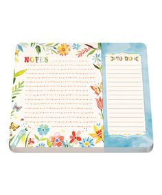 Look at this #zulilyfind! Happy Day Two-Section Notepad by Studio Oh! #zulilyfinds