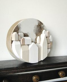 original art one of a kind wood wall sculpture by thecoldyear