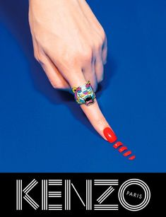 Kenzo choose Japanese actress Rinko Kikuchi and male model Sean O'Pry for their fall 2013 ad campaign. oriented on accessories. Kenzo e. Creative Advertising, Fashion Advertising, Advertising Campaign, Brand Campaign, Print Advertising, Sean O'pry, Kenzo, Rinko Kikuchi, Mode Pop