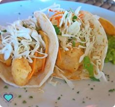 Fish Tacos at Casa de los Suenos