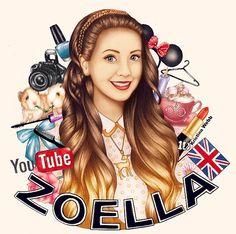 Kristina Webb's amazing drawing of Zoella