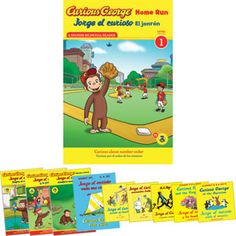 Curious George® Spanish And Bilingual 10 Book Set