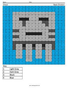 Free Minecraft Math Coloring Pages