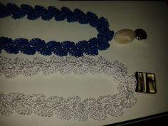 colares DNA / pendente resina