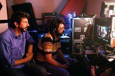 Manolo Solo en el rodaje de La Isla Mínima. Una película de Alberto Rodríguez con Raúl Arévalo, Javier Gutiérrez, Antonio de la Torre, Nerea Barros.