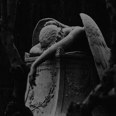 Death Aesthetic, Gothic Aesthetic, Slytherin Aesthetic, Gray Aesthetic, Black Aesthetic Wallpaper, Black And White Aesthetic, Aesthetic Wallpapers, Aesthetic Statue, Paradis Sombre