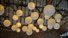 Fairy Lights and Ivory Lanterns | Hanging Lantern Company