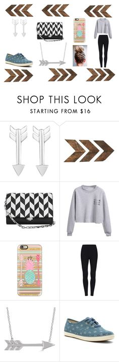 """""""Arrows #1"""" by teenwolfmoosic on Polyvore featuring WALL, Michael Kors, Casetify, Allurez and Keds"""