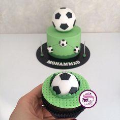 Hashtag #soccercake en Instagram • Fotos y vídeos Soccer Cake, Soccer Party, Birthday Cake, Desserts, Instagram, Tailgate Desserts, Birthday Cakes, Deserts, Dessert