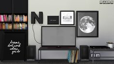 Toshiba TV and LG TV ( Final Version ) • 1 Mesh Toshiba Stand TV with 6 Swatches • 4 Meshes LG PK550 Stand TV with 4 Screen Size ( 2 Swatches Black and White ) • 4 Meshes LG PK550 Wall TV with 4...