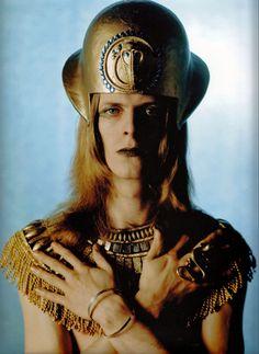 David Bowie as The Sphinx, 1969  http://www.retronaut.com/wp-content/uploads/2012/07/76.jpg