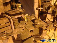 Fabricante: Metral Modelo: FNG Canteadora biseladora de formas Precio: 9.000€ + IVA (porte e instalación no incluidos) Nota: La máquina se encuentra en perfectas condiciones Disponibilidad: Inmediata