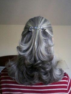 Gray hair is beautiful. :)