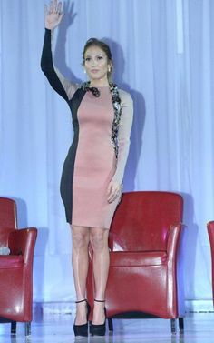 Coming as music to her adoring fans' ears, Jennifer Lopez took center stage at Boulevard3 in Hollywood, California to make a big announcement on Monday afternoon (April 30).