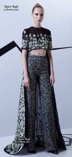 Rami Kadi Haute Couture Design from Lucioles Collection