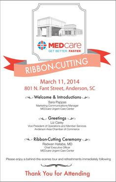 22 Best Ribbon Cutting Images Invitations Grand Opening