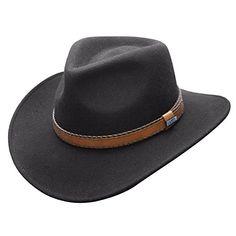 d17c0ca5e8e Conner Hats Australian Wool Outback Crushable Water Proof Western Cowboy Hat