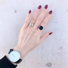 Hands With Rings, Bangle Bracelets, Bangles, Jewelry Accessories, Fashion Accessories, Elegant Nail Designs, Manicure, Nails, Jewelry Photography