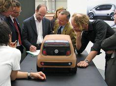 OG | 2007 Volkswagen / VW up! | Walter de'Silva and Klaus Bischoff with the concept scale model