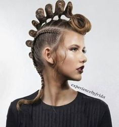 Hair Colour – My hair and beauty Editorial Hair, Fantasy Hair, Hair Reference, Hair Shows, Creative Hairstyles, Crazy Hair, Great Hair, Hair Art, Hair Designs
