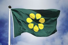 Australian flag proposal _ Golden Wattle flag (2016). http://www.facebook.com/goldenwattleflag #newaustralianflag #ausflag #goldenwattleflag