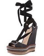 Blog OMG Im Engaged - Sapatos de Noiva na cor preto. Wedding shoes by Louboutin.