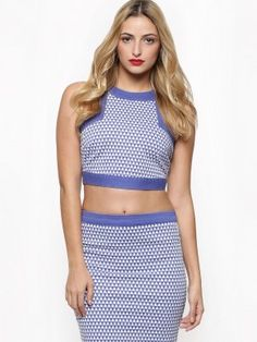 2a3466172373f NEON ROSE Diamond Print Crop Top available on koovs.com in india Rose Online