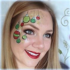 holiday face painting - Google Search