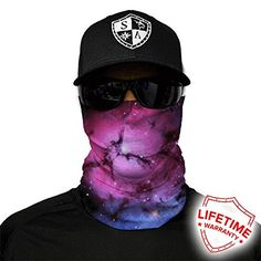 Face Shield - its like a stetchy bandana, can be worn on face or in hair!