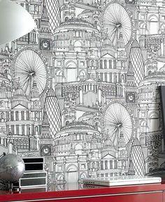Graham & Brown Papier-Tapete londinium Kollektion Kids Home IV, mehrfarbig, 50-308: Amazon.de: Baumarkt