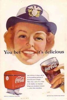 Coke Naval Servicewoman (1952)