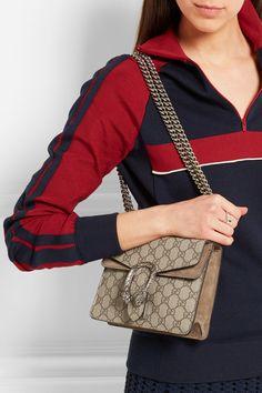Gucci Dionysus Medium GG Supreme Canvas Bucket Bag VP9ZwDnYy