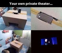 DIY Personal home theater