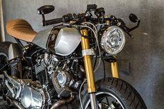 Yamaha Cafe Racer project bike