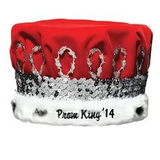 Embroidered Prom King Regal Crown With Silver Band Prom 2014, Kings Crown, The Help, Royalty, Band, Silver, School, Royals, Sash