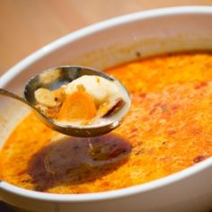 Soup Recipes, Recipies, Dumplings For Soup, Hungarian Recipes, Goulash, Soups And Stews, Thai Red Curry, Food And Drink, Pudding
