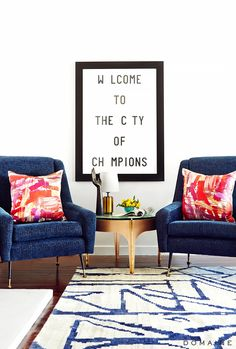 How to Style an Über-Chic Home, According to Fashion Bloggers via @MyDomaine