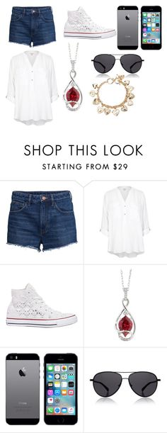 """Untitled #109"" by nannabananna on Polyvore featuring H&M, River Island, Converse, Chatham, The Row, Forever 21, women's clothing, women, female and woman"