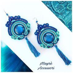 Soutache earrings by Mayrè Accessori