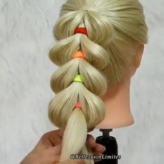 Braided Ponytail Hairstyles, Easy Hairstyles For Long Hair, Braids For Long Hair, Girl Hairstyles, Hairstyle Men, Style Hairstyle, Hairstyles 2018, Wedding Hairstyle, Front Hair Styles