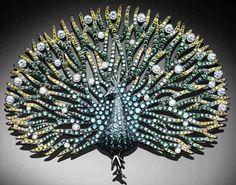 Palmiero Peacock Brooch