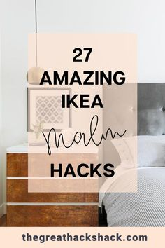 We love the Ikea Malm dresser. The fact that it is so plain makes it rip for hacking! These Ikea Malm hacks will show you how you can create something incredible. #ikeamalmhacks #ikeahacks #malmdresserhacks #ideas Ikea Furniture Hacks, Cheap Furniture, Ikea Hacks, Ikea Malm Dresser, Best Ikea, Ikea Home, Craft Materials, Blog Tips, Diy Home Decor