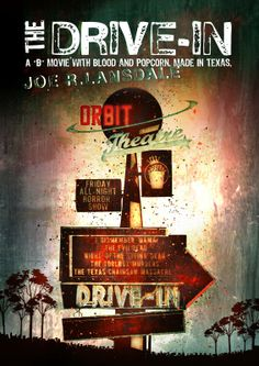 Interpretazione artistica Drive-in di Joe R. Lansdale. Illustrazione e grafica by Davide Corsetti. http://recensionidallagalassia.blogspot.it/2014/03/il-drive-in-horror-pop-corn.html
